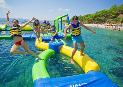 AquaPark Pula Verudela-Kids-Jumping-in-a-Water-Park