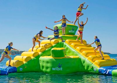 Water Park-Kids-Jumping
